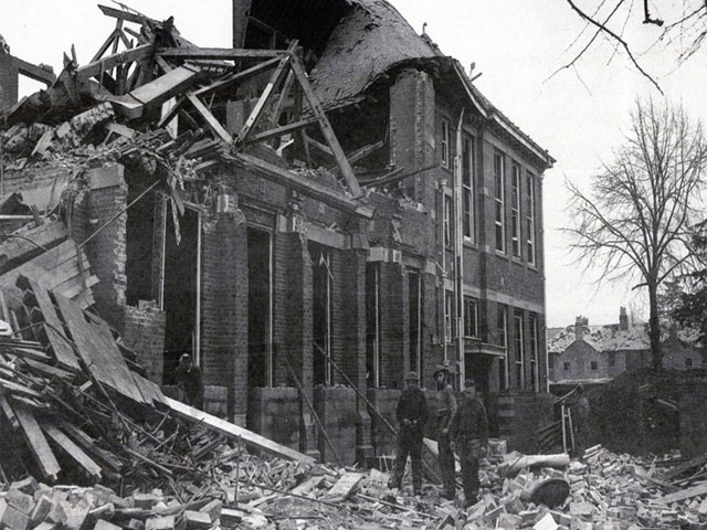 1943 bombing of newbury