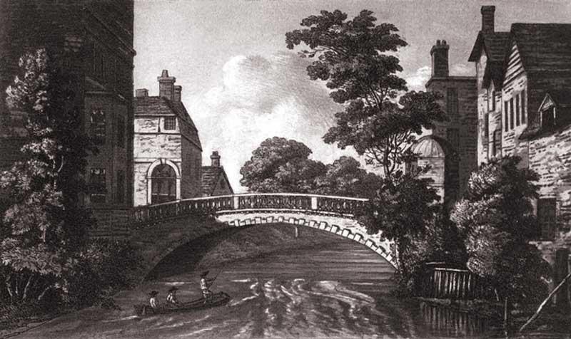 Newbury Bridge That Spans The Kennet Avon Canal