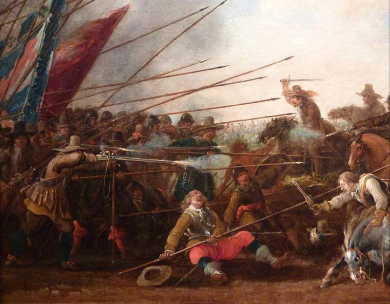 second battle of newbury during the english civil war