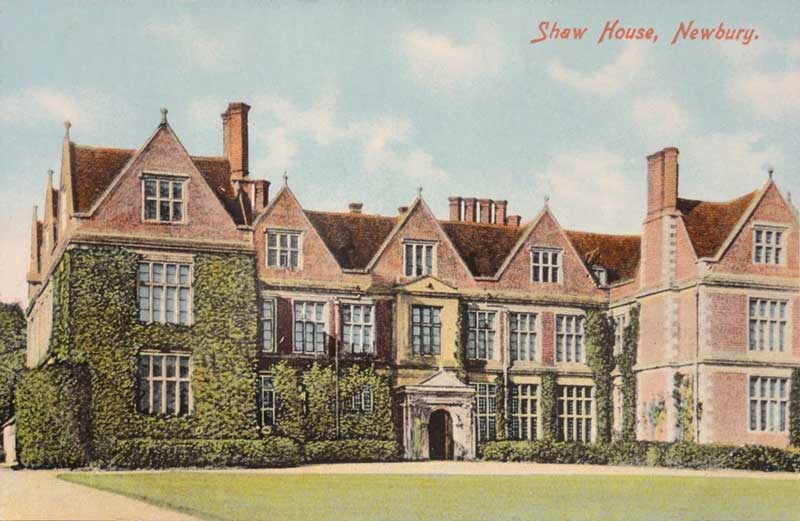 postcard of shaw house c.1909 tufnails series