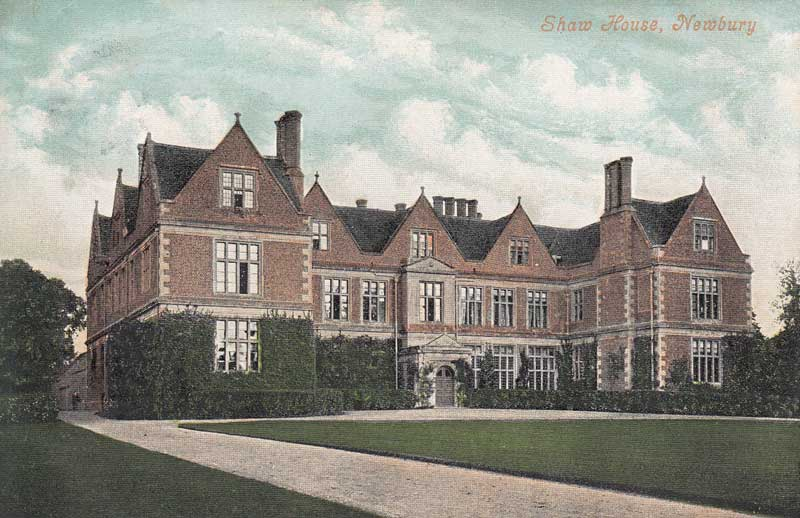 postcard of shaw house c.1908